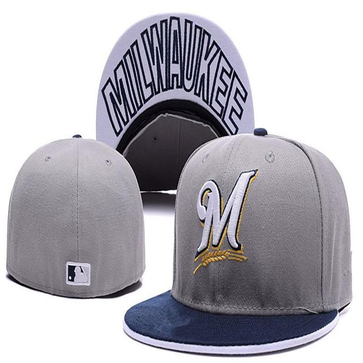 Wholesale #Baseball Caps series full closed #fitted #caps baseball cap flat brim hat size cap team fans cap