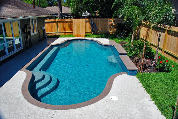Swimming Pool Design Built By Redman Residential Pools