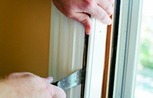 Don't replace those drafty windows. Install weatherstripping and save a lot of money.
