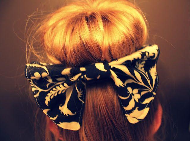 Giant Hair Bow Tutorial