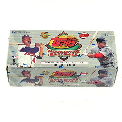 2000 Topps HTA Baseball Factory Set (479) * Hank Aaron Chrome Reprint  2000 Topps Baseball Factory Set  Home Team Advantage Version  Complete Series 1&2 Set  Factory Sealed  Hank Aaron Chrome Reprint