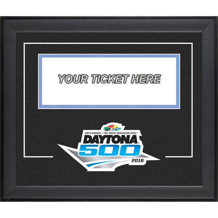 """Fanatics Authentic Daytona 500 Ticket Pop-In 11"""" x 13"""" Frame with Logo"""