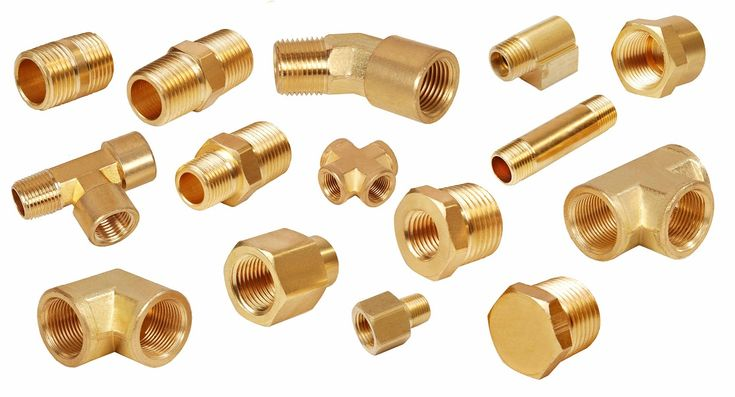 There are several metals which are used for manufacturing pipe fittings which brass fittings manufacturers manufacture. However it's a known fact most alloys prove to be stronger as compared to metals....