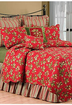 Our Holiday Bedding Love Love Love C H R I S M A S
