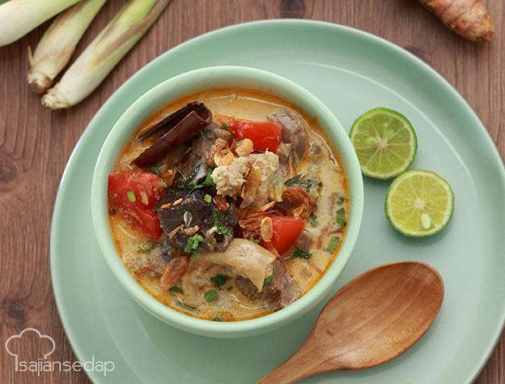 Soto tangkar, sajian khas Betawi untuk teman santap siang atau malam. Yuk coba buat di rumah.