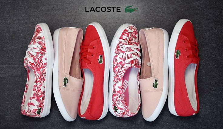 Melyiket választanád?http://www.officeshoes.hu/cipok-noi-lacoste/444/18/order_asc #lacoste #red #women #shoes #summer #officeshoes
