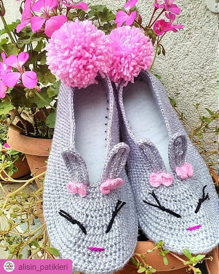 Unisex Knitted & Crochet Slippers Pattern – Page 11 of 50