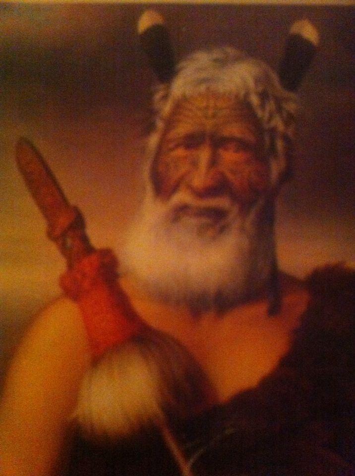 Eruera Maihi Patuone was Chief of the Ngapuhi tribe.