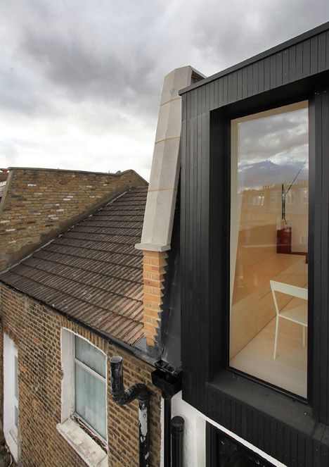Two houses in west London reshuffled to create a pair of double-fronted flats