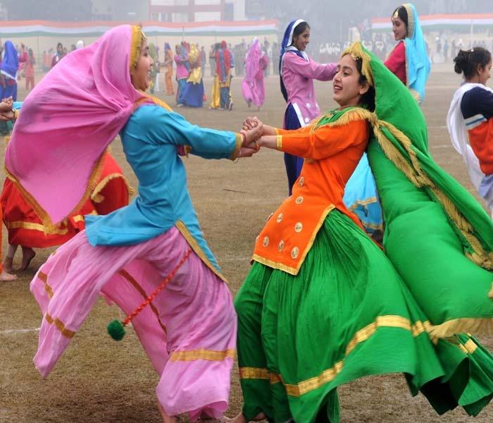 Giddha dance of Punjab, India