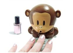 Online Shop Nail dryer, dry nail polish through the breeze from monkey mouth|Aliexpress Mobile