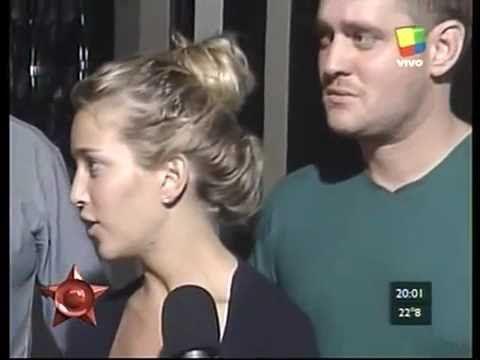 HABLO LU DEL ROBO EN SU CASA TELESHOW (Luisana Lopilato and Michale Buble)