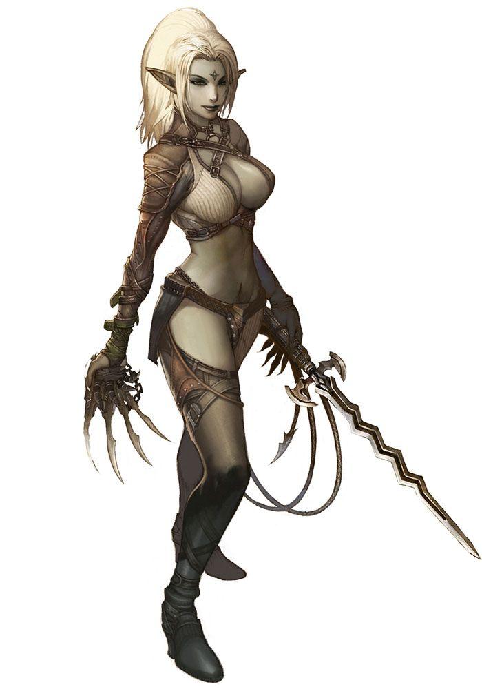 Cosplay lineage dark elf tit fucking pov 5