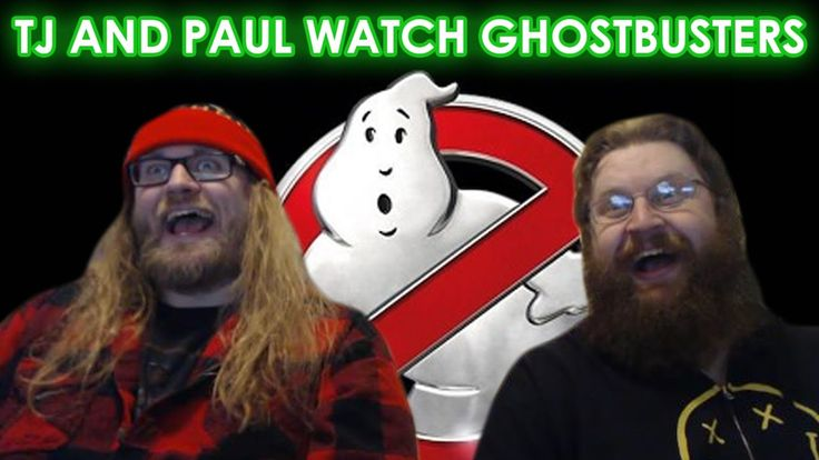 TJ AND PAUL WATCH GHOSTBUSTERS (2016)