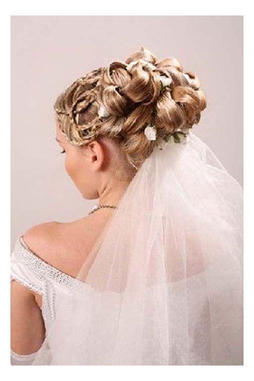 Superb 1000 Ideas About Wedding Hairstyles Veil On Pinterest Wedding Short Hairstyles Gunalazisus