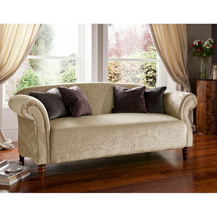 Jasper Medium Sofa In Champagne Sofas Asda Direct