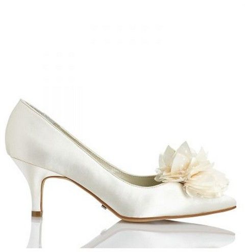 Svadobné topánky Menbur Yves