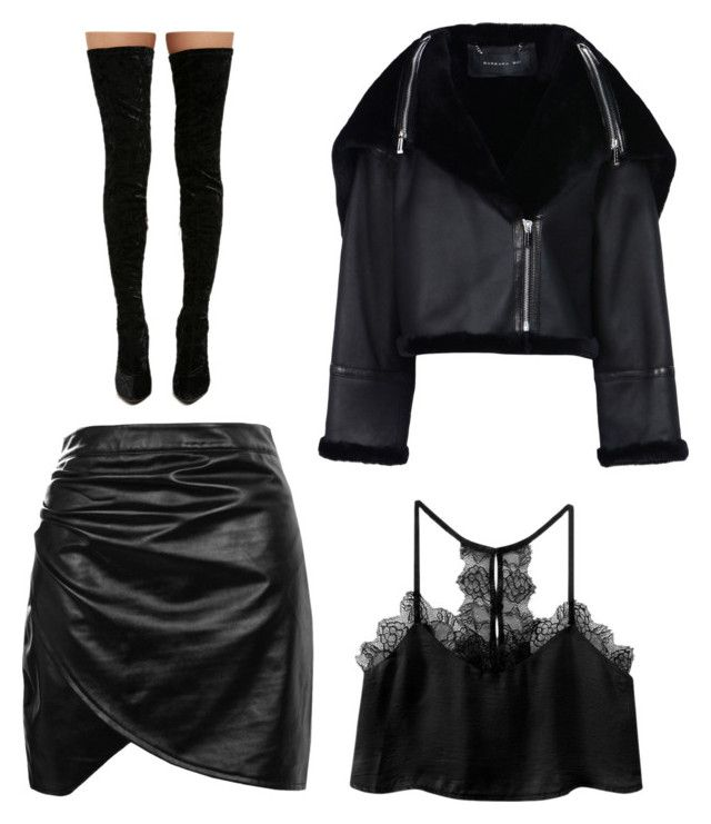"""""""Untitled #474"""" by m-svarstad ❤ liked on Polyvore featuring Boohoo, Barbara Bui and Cape Robbin"""