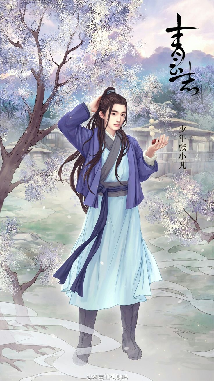 王源 青云志 少年张小凡by青元谷 Gaya rambut