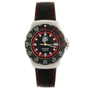 A stainless steel quartz mid-size Tag Heuer Formula 1 wrist watch with lady's Tag Heuer wrist watch