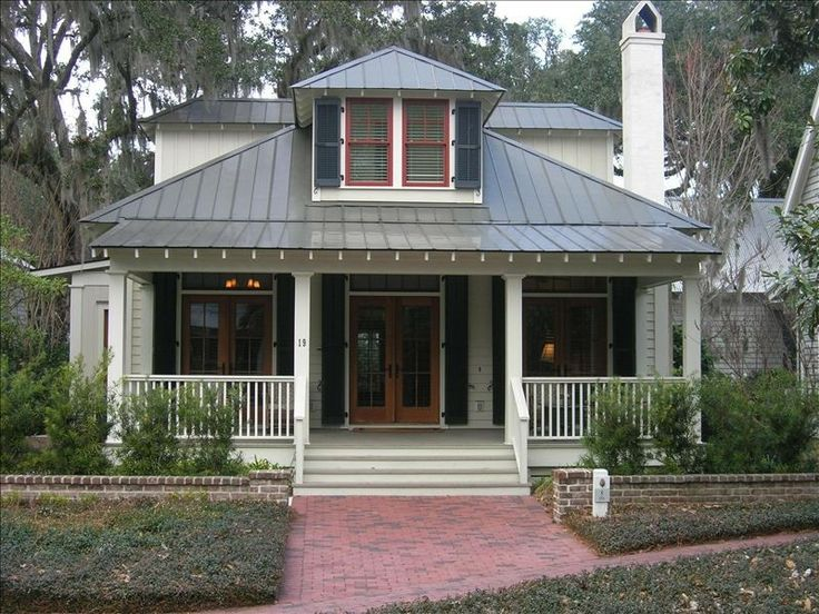 Best 249 Best White House Silver Metal Roof Black Shutters 400 x 300