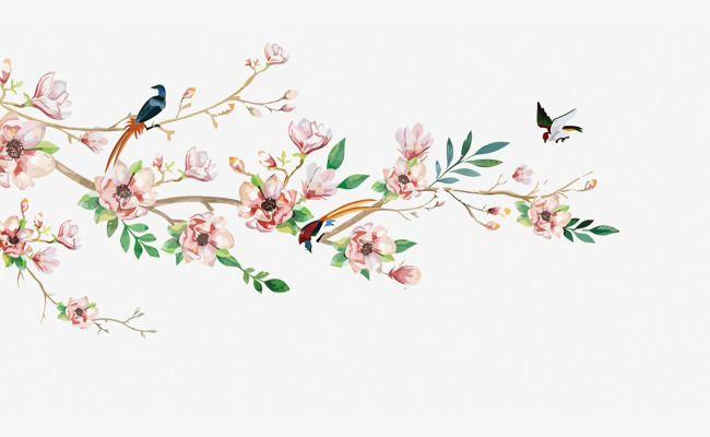 Vector Flowers Hand Painted Flowers Spring Flowers Png Transparent Clipart Image And Psd File For Free Download Vector Flowers Flower Wall Decals Hand Painted Flowers