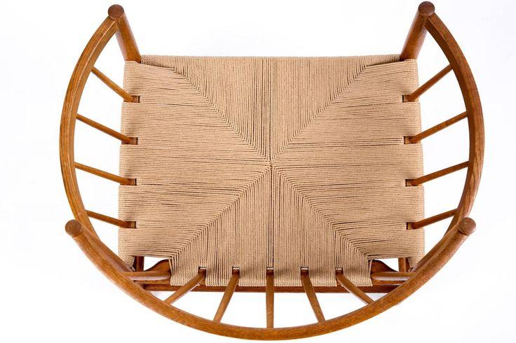 Jorgen Baekmark Paper Cord Round Lounge Chair 2