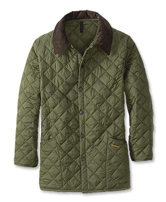 Just found this Long+Diamond+Quilted+Coat+-+Barbour%26%23174%3b+Liddesdale+Jacket+--+Orvis on Orvis.com!