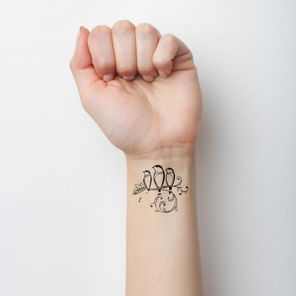 Three Little Birds | Tattify