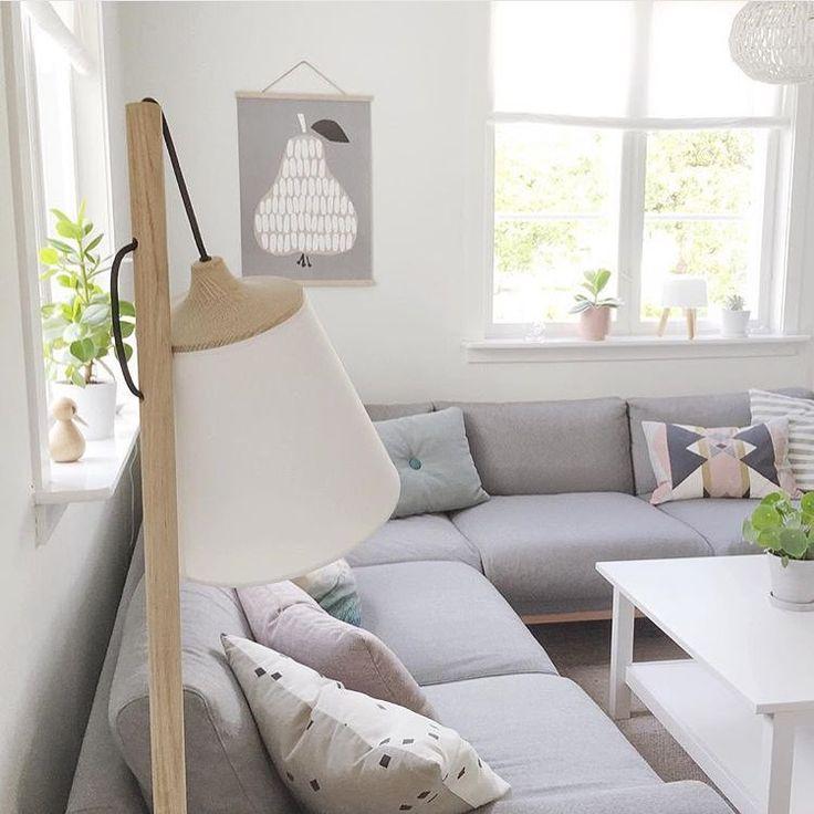 Lampe fra Muuto lekker!  sofa