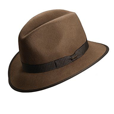 3d7150582c1 Scala Crushable Water Repellent Wool Felt Safari Hat Review