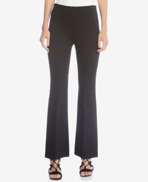 Karen Kane Avery Pull-On Bootcut Pants - Black XL