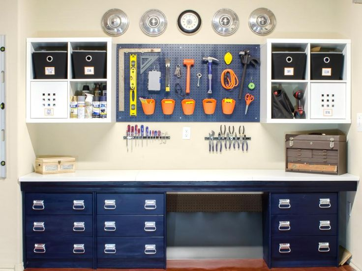 The organizing experts at HGTV.com share 20 clever garage storage hacks.