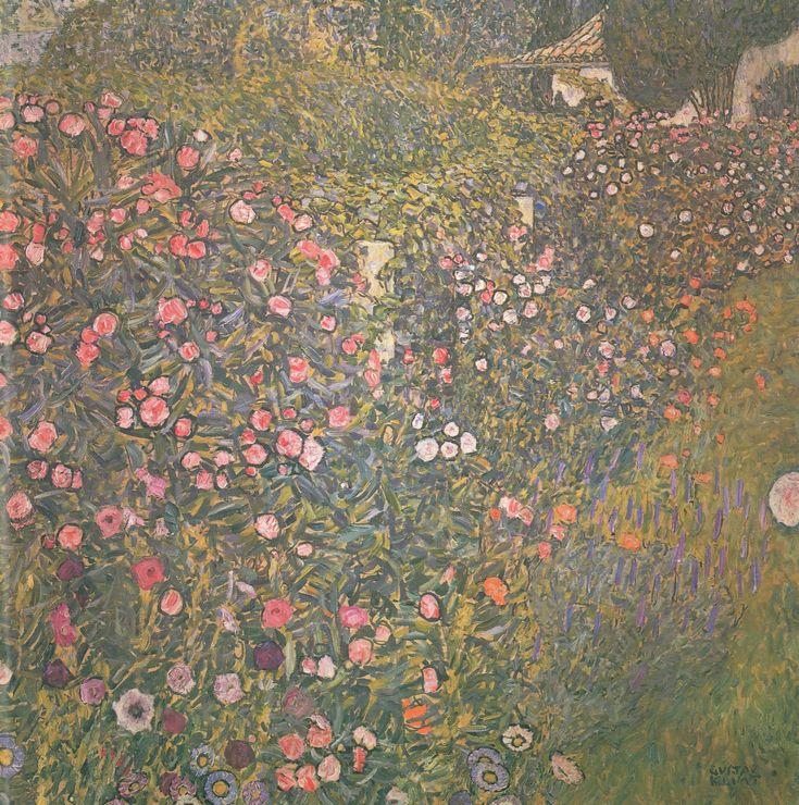 Italian Horticultural Landscape by Gustav Klimt: