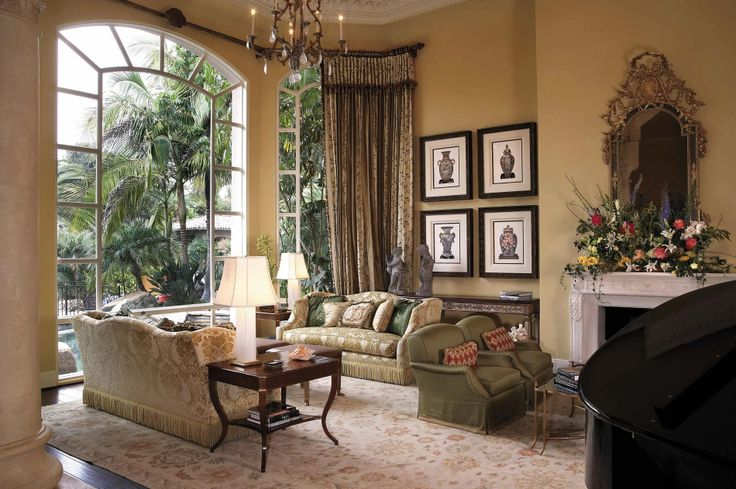 Living Room Den Interior Design Pinterest