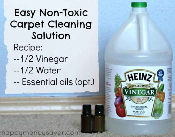 All Natural Carpet Cleaning Solution for Machines