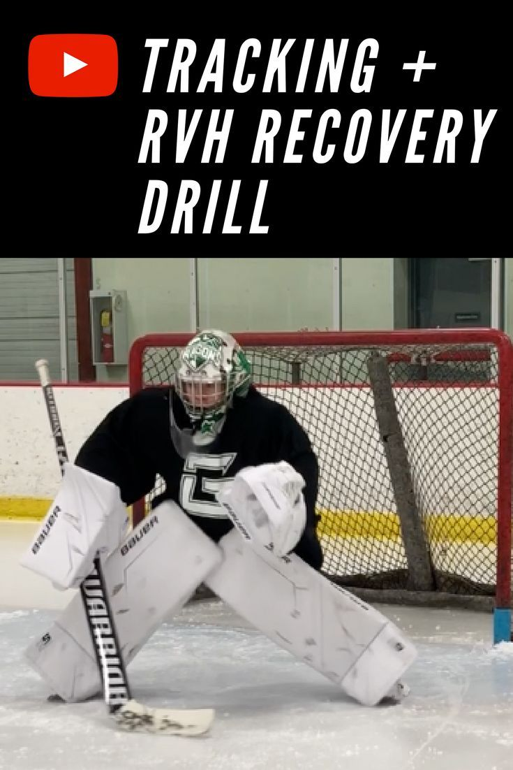 Low Tracking Rvh Recovery Drill For Goalies Hockey Goalie Drill