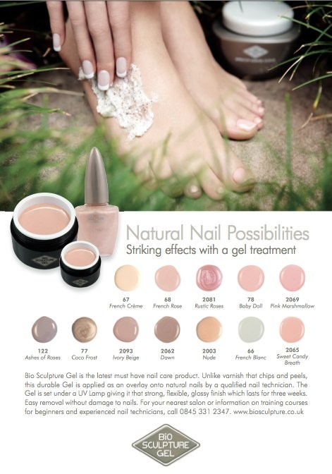 Bio Sculpture Gel Natural Nail Possibilities