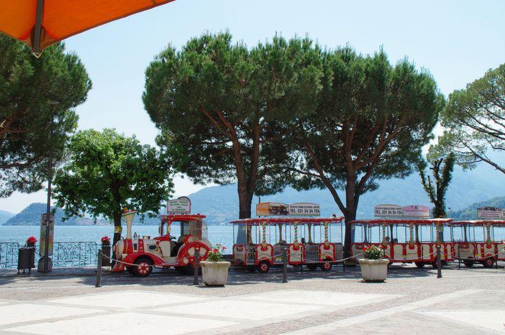 Tourist transport at Menaggio, Lake Como