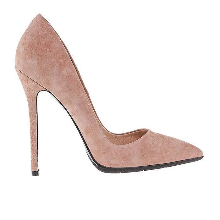 1203A00-NUDE SUEDE #mourtzi #heels #high_heels #wow #nude #pumps #chic www.mourtzi.com