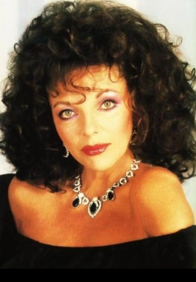 80 S Joan Collins | Joan Collins , vroeger vond ik haar make-up prachtig!