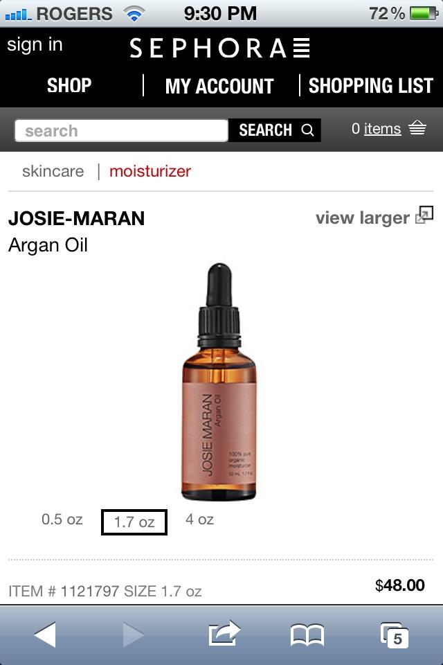 Josie Maran  Argan Oil Josie Maran Argan Oil