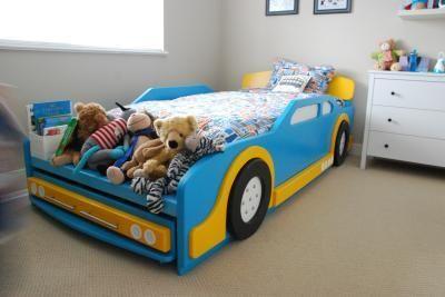 Race car bed tutorial