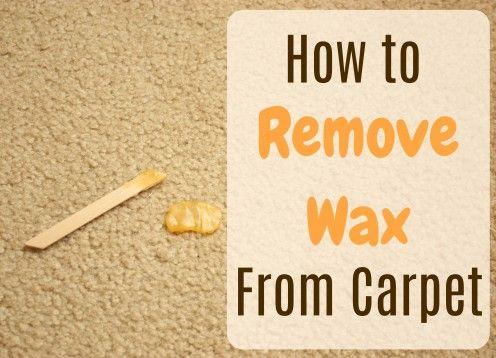 d9f339670657ed3e31669f51c6ddf1ce - How To Get Red Candle Wax Out Of White Carpet