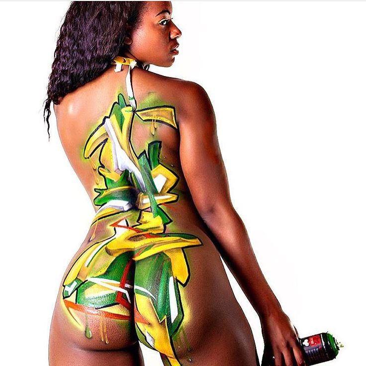 Body airbrushing by @airballin  #sexy #custom #airbrushing #art #StratusAirbrush