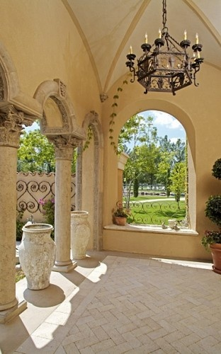 Exquisite! Like the arched window opening  columns