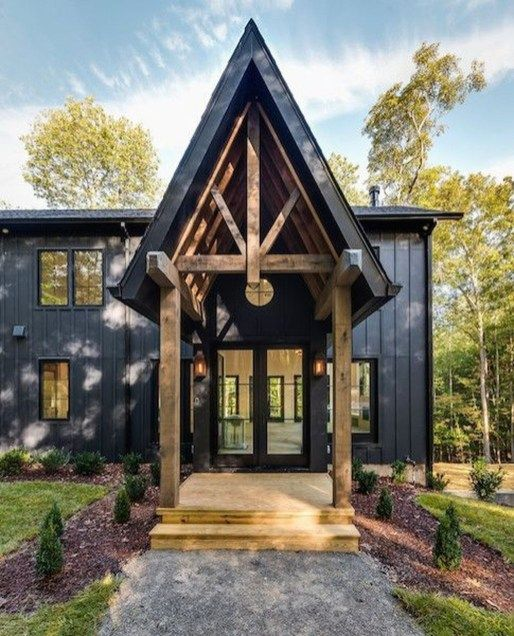 Creative Lake House Exterior Designs Ideas 41