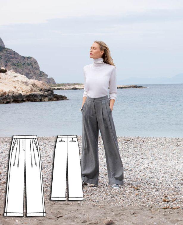 Cartamodello pantaloni estivi -ClassicSeasideCollection118