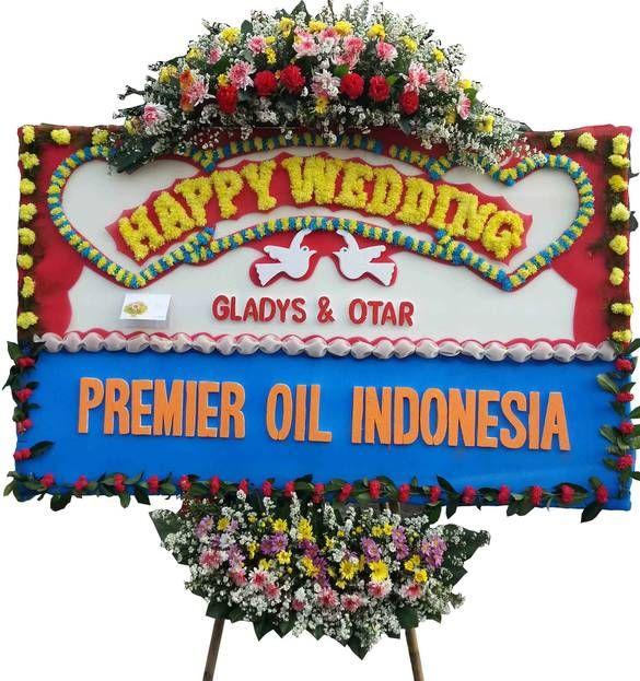 Bunga Papan Ucapan Selamat Menikah