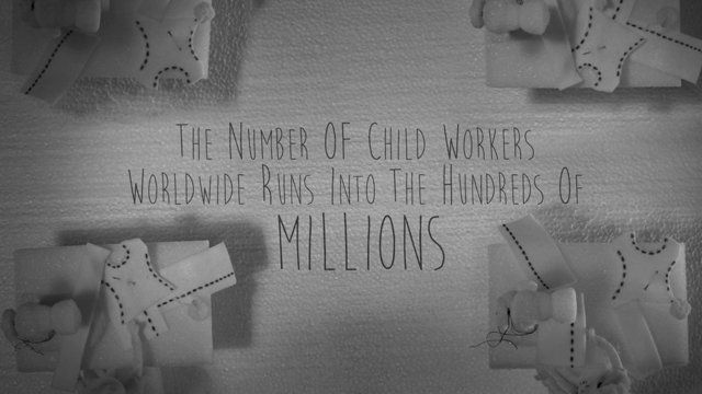 """Children of Labor is a stop-motion piece whose concept derived from the idea of """"heroes and villains"""" that was created by myself, Krystal Sojourner, and motion designer Mina Valizadeh. In regards to the creative execution, we decided to work on a PSA geared towards the children of labor across the globe. In the piece, the heroes are the people who choose to support a child's future, and the villains are those who enforce the hazardous working conditions these children endure.  In our ..."""